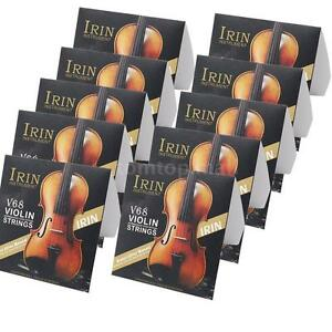 10-Sets-E-A-D-G-Violin-Fiddle-String-for-4-4-3-4-1-2-1-4-Violins-G1X8