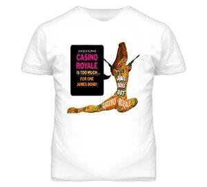 James bond casino royale t shirt