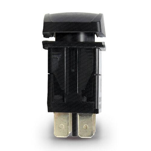 White LED Rocker Switch Jeep Wrangler JK Roof Light Bar Symbol Horizontal