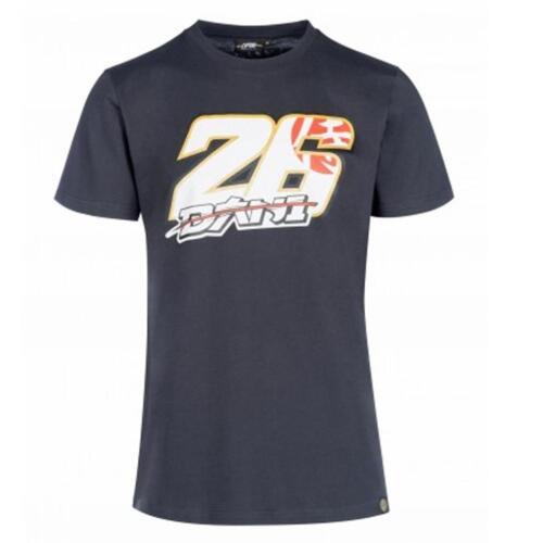 Official 2018 Dani Pedrosa #26 MotoGP Mens T-Shirt Tee Black Large DP26 Logo