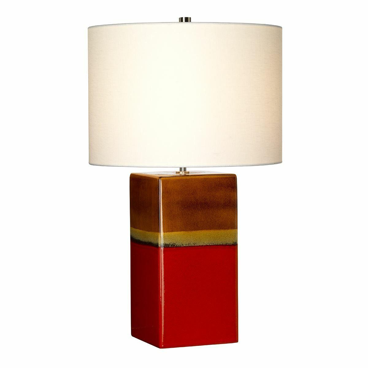Elstead Lighting - Alba 1 Light Table Lamp - rot
