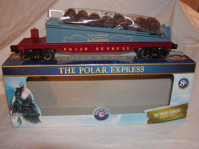 Lionel 1928430 The Polar Express Barrel Ramp auto O 027 nuovo 2019 MIB