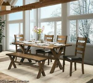 Live Edge Wooden Dining Set  (MZ55) Mississauga / Peel Region Toronto (GTA) Preview
