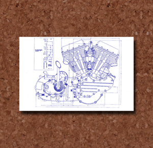 Volkswagon Beetle Blueprint Plan BP0226