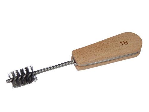 Entgratungsbürste//Reinigungsbürste mit Bürstenkopf zwischen 12mm und 35mm