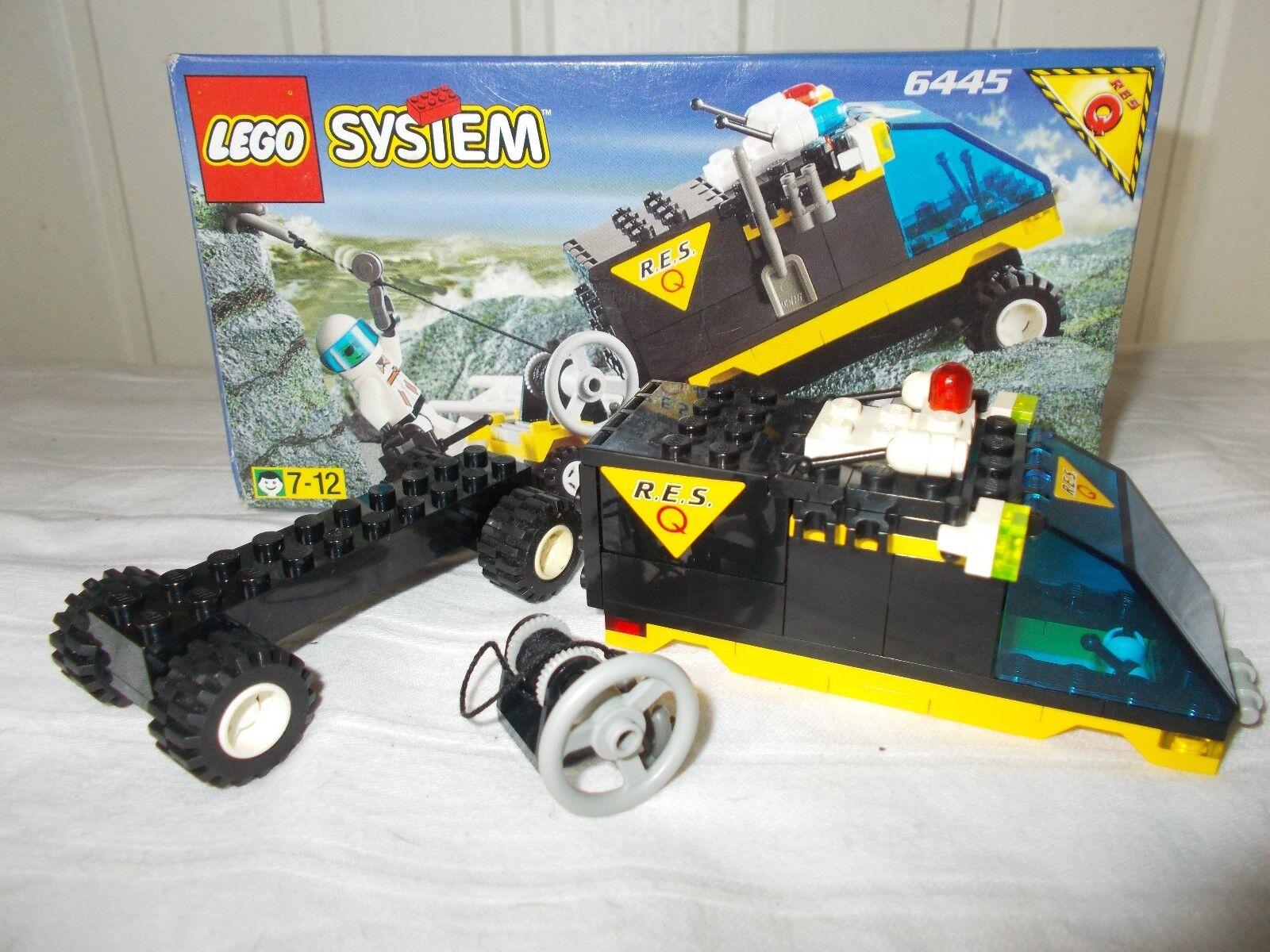 LOT 6 Lego ville SYSTEM- 6445  6422 6556 6525 6514 646 VOITURES pompier course