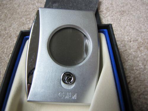 Colibri Eclipse Cigar Cutter - Silver & Chrome - New