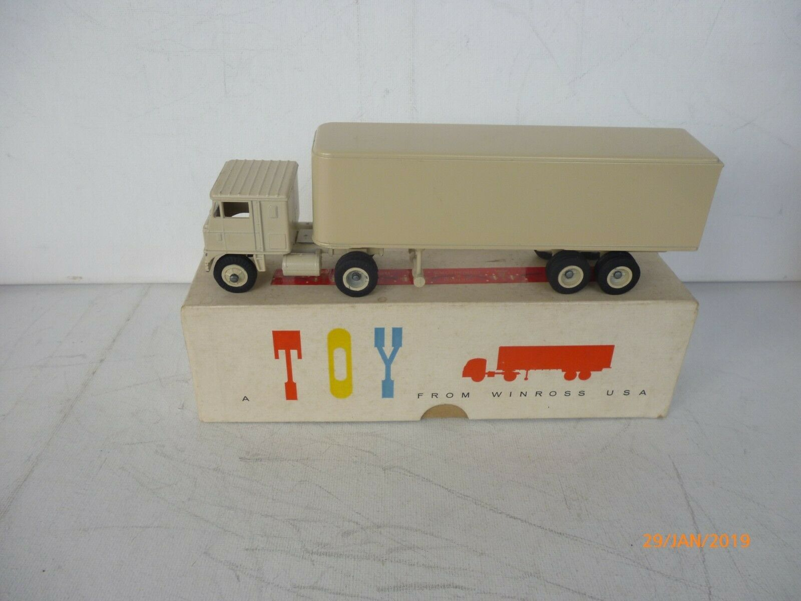 Winross USA VINTAGE ARTICULATED LORRY DIECAST NEAR MINT BOXED VERY RARE