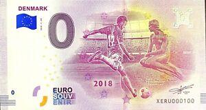 BILLET-0-EURO-COUPE-DU-MONDE-DE-FOOTBALL-DENMARK-2018-NUMERO-100