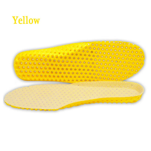 Women Men Shoes Insoles Orthopedic Foam Sport Arch Support Insert Soles Pad New