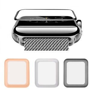 Tempered-Glass-Screen-Protector-For-38-42mm-Apple-Watch-iWatch-3-2-1-US-Stock