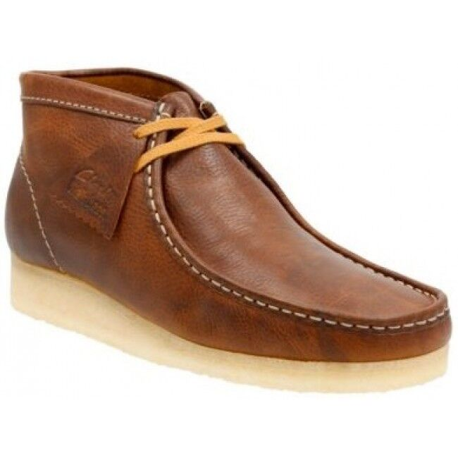 Clarks Originals Mens  ** Wallabees Bronze / / / Brown Leather ** UK 8,9,10 G b0e913