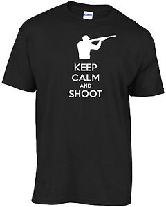 Eat Sleep Shoot T-shirt Funny Gift Hunting Skeet Shooting Gun Combat Birthday