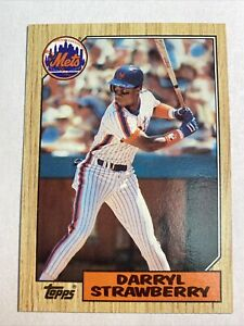 1987 TOPPS #460 Darryl Strawberry New York Mets 🔥HOT CARD🔥