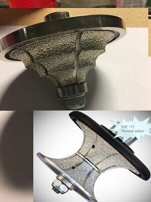 "Diamond Router Bit TB-20mm 3//4/"" Triple Waterfall Bullnose Granite Marble stone"