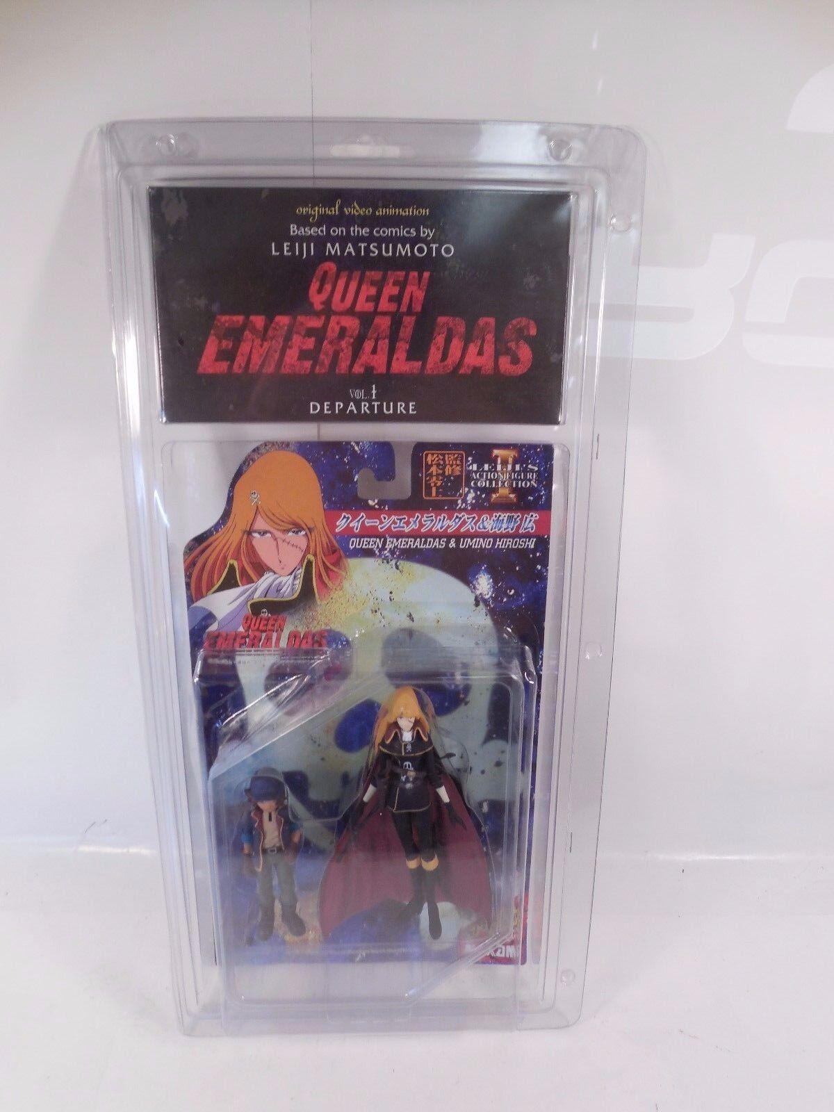 specialee edizione regina EMERALDAS & UMINO HIROSHI cifra SET W ANIME VHS VOL.1 MIP