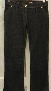 """(ref 184) Authentic Vintage-taille 10 W 30"""" Femme Bleu Denim Coupe Droite"""