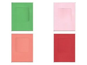 8 x 6 square windowaperture card blanks perfect for your diy image is loading 8 034 x 6 034 square window aperture m4hsunfo
