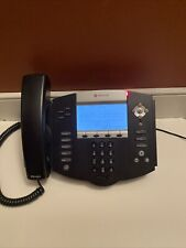 Lot Of 6 Polycom Soundpoint Ip 550 Phones 2201 12550 001 With Stands And Handset
