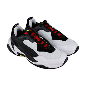 Puma-Thunder-Spectra-36751607-Mens-White-Casual-Lace-Up-Low-Top-Sneakers-Shoes
