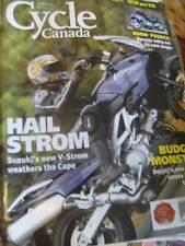 Cycle Canada Magazine April 2002 Suzuki, Ducati, Honda, BMW