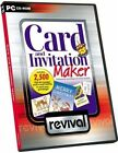 Craft CLEAROUT Revival - Card and Invitation Maker With Clip Art CD ROM