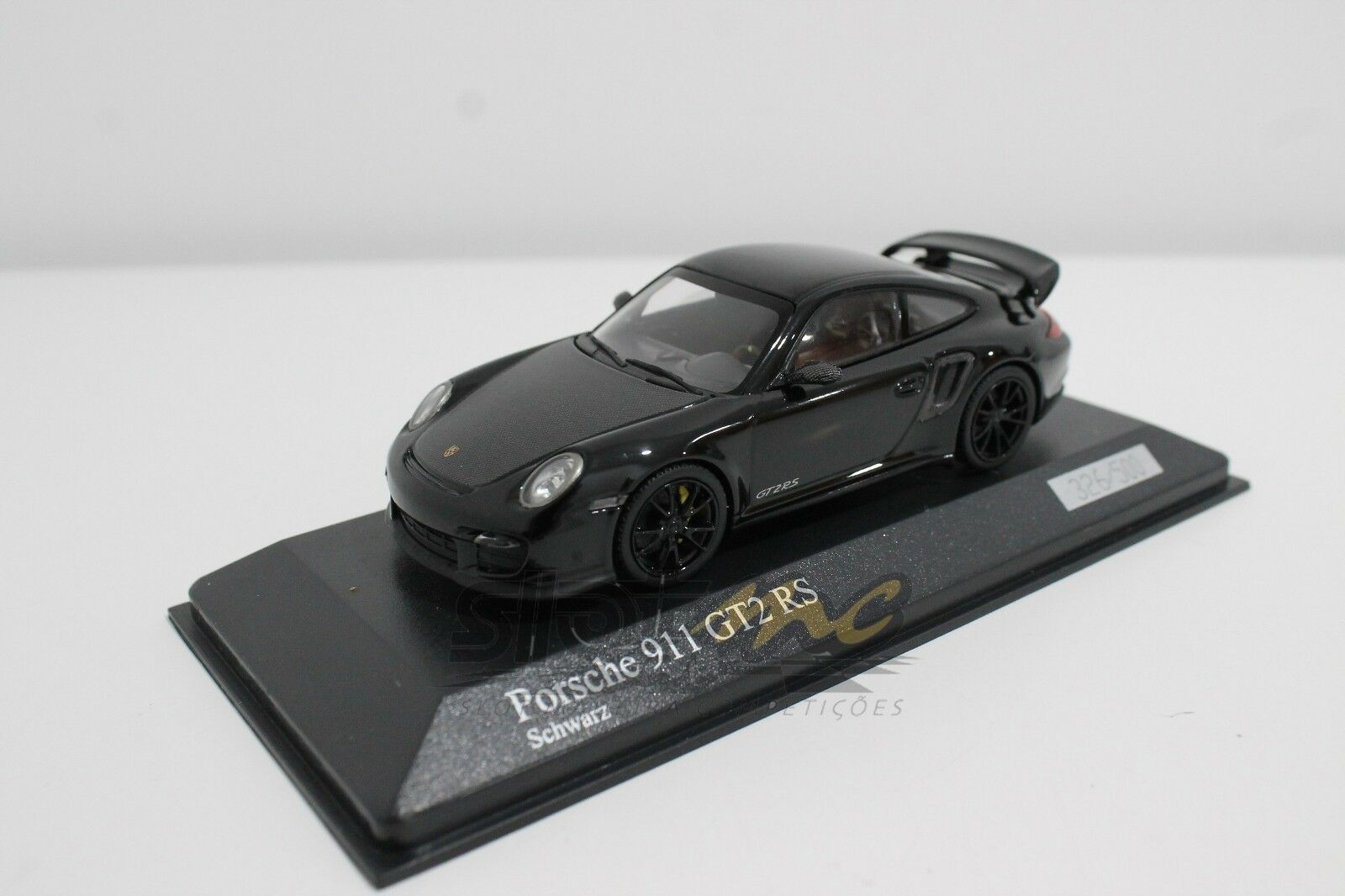 Minichamps 400069404 PORSCHE 911  997 II  GT2 RS 2010 Nero 1/43  NEW