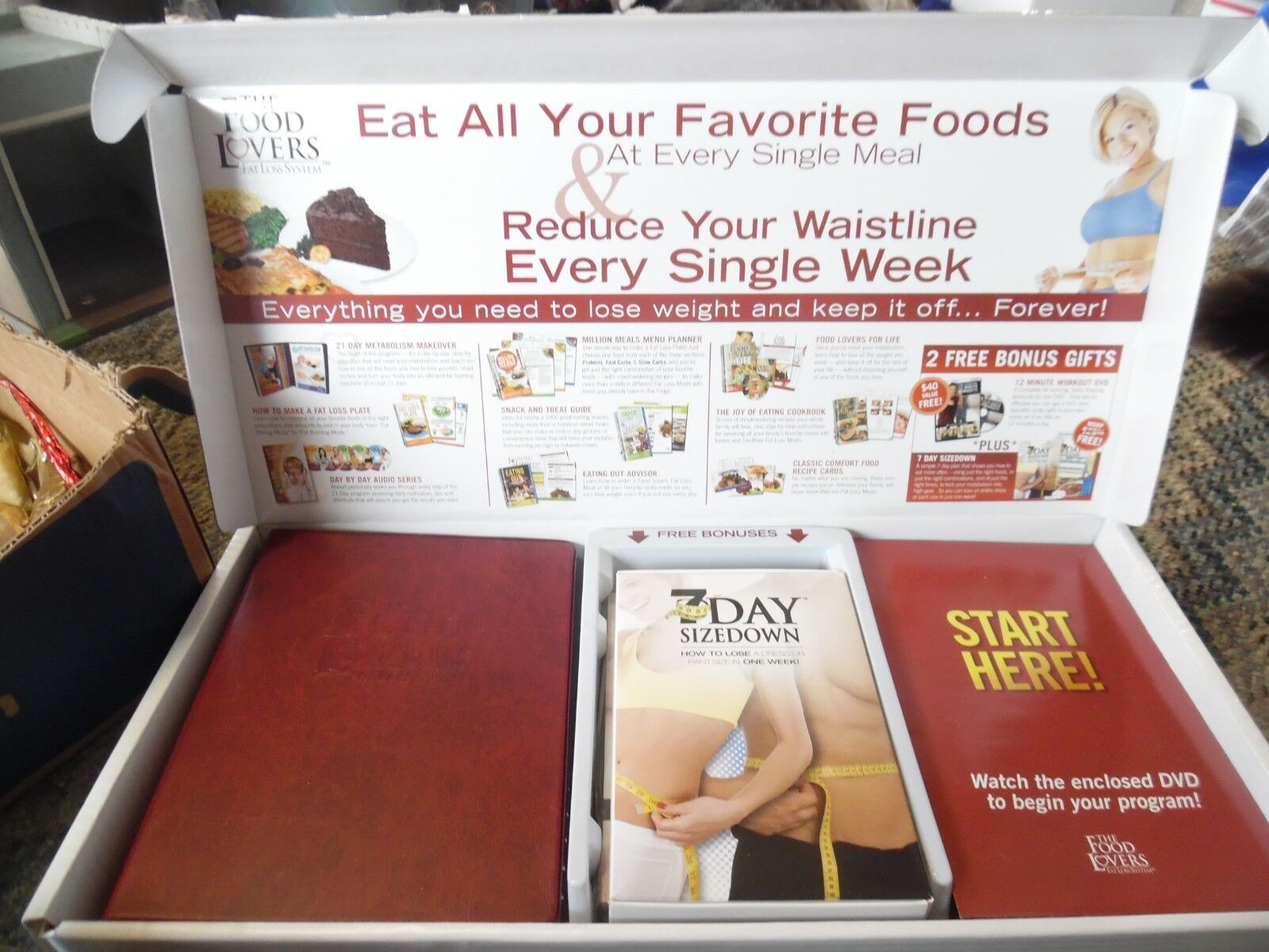 Food lovers fat loss system free shipping