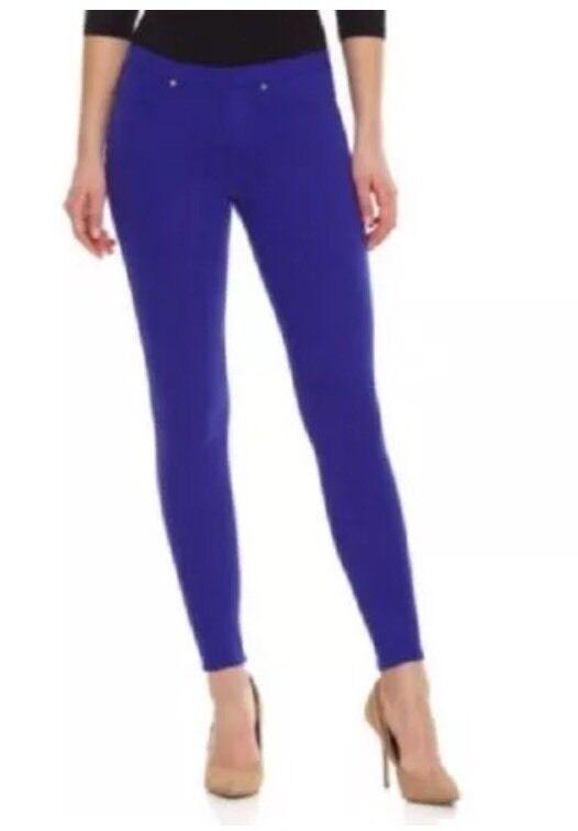 Hue Original Women's Solid Aubergine color Jeans Leggings Sz Large 0111