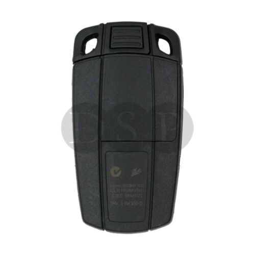 Blank fit for BMW 1 3 5 7 Series X5 Smart Remote Key 2 BTN Replace Key Shell