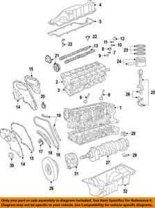 land rover oem 08 12 lr2 engine valve cover lr023777 ebay 2008 Corolla Engine Diagram image is loading land rover oem 08 12 lr2 engine valve