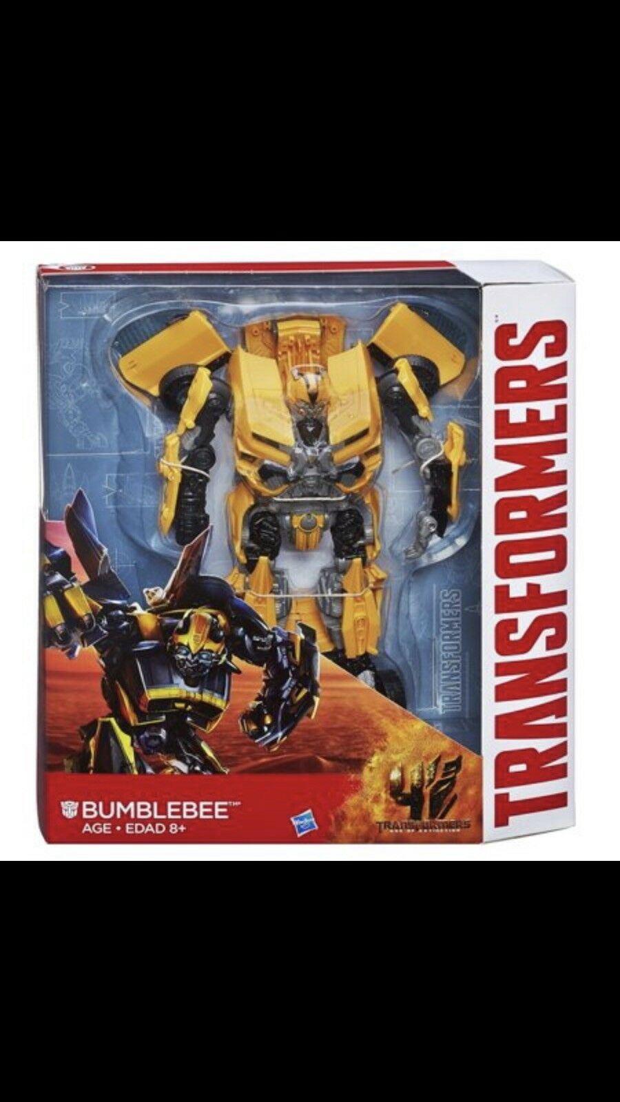 Hasbro Transformers  Age of Extinction Leader Class Bumblebee Costco Exc NEW