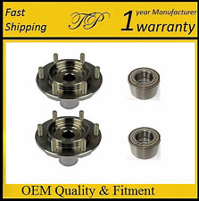 1996-2002 Toyota 4Runner 4WD Front Wheel Hub & Bearing Kit Assembly 4x4 (PAIR)