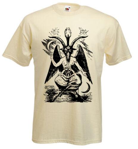 Chèvre de Mendes T-Shirt-Occulte Goth païens satanique Crowley-Choix de Couleurs