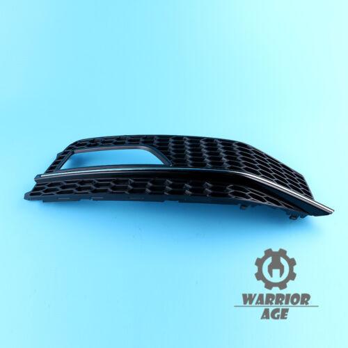 x1 Front Bumper Fog Light Grille Right Passenger Side For AUDI A4 S-Line13-15
