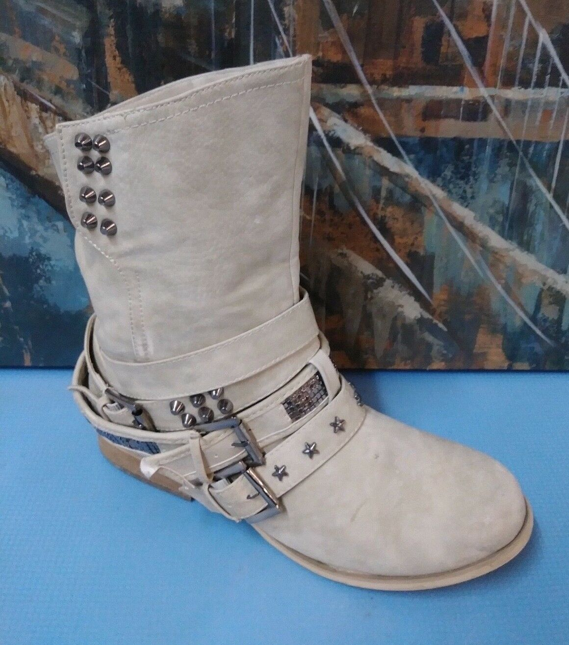 Not Rated Womens Harness Boots Style NRW1367 Size 9.5