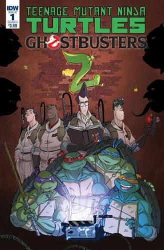 Cover A - Schoening IDW-2017 Teenage Mutant Ninja Turtles Ghostbusters II #1