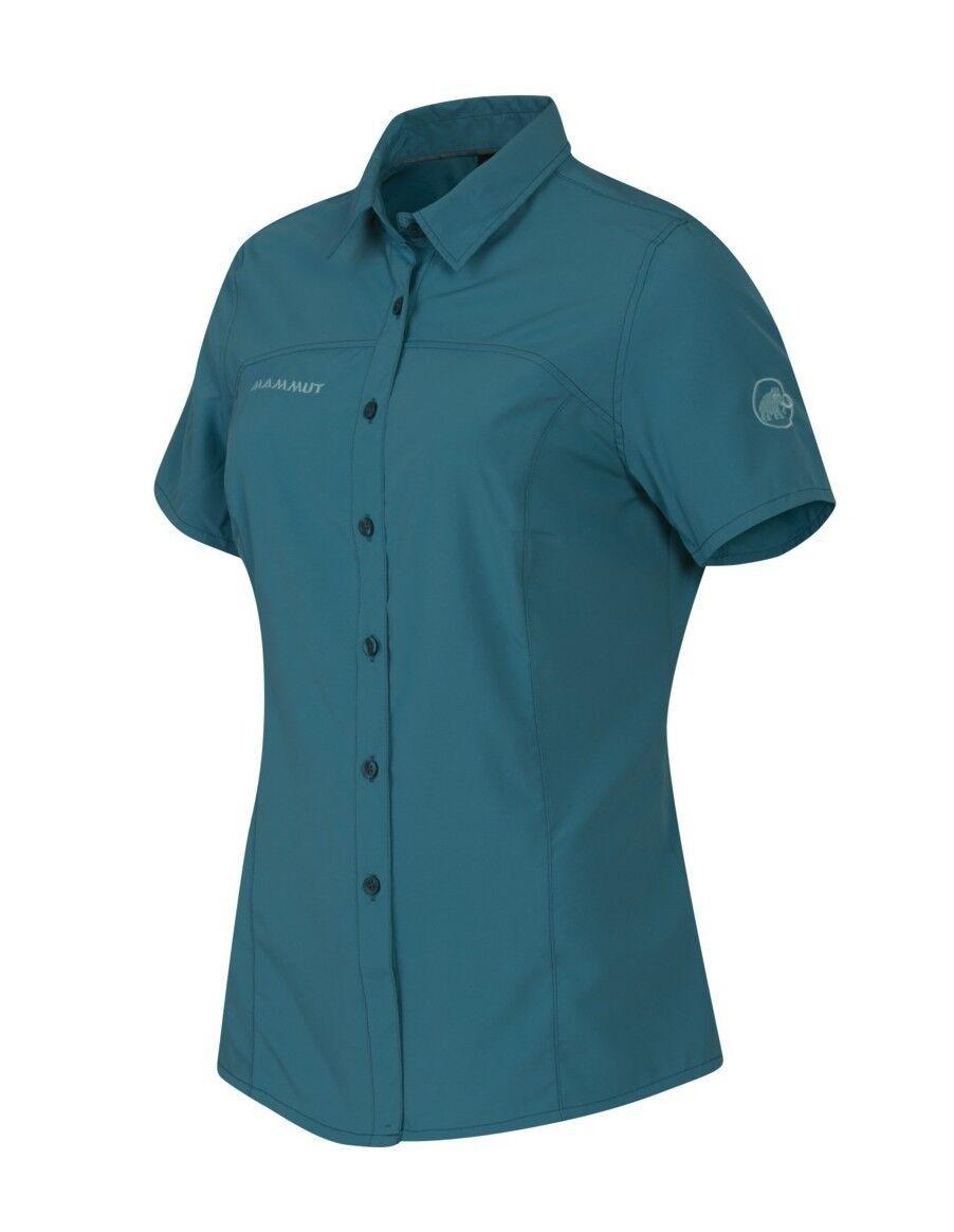 Mammut Hera Shirt daSie, dark pacific, Kurzarm-DaSiefunktionshemd