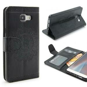 Samsung-galaxy-a3-2016-Wallet-pliante-Housse-de-Protection-Stand-Flip-Case-Cover-etui