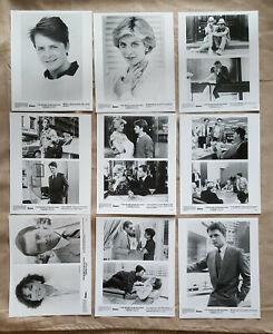 1987-Secret-of-My-Success-movie-lot-9-press-kit-8x10-B-amp-W-photos-Michael-J-Fox
