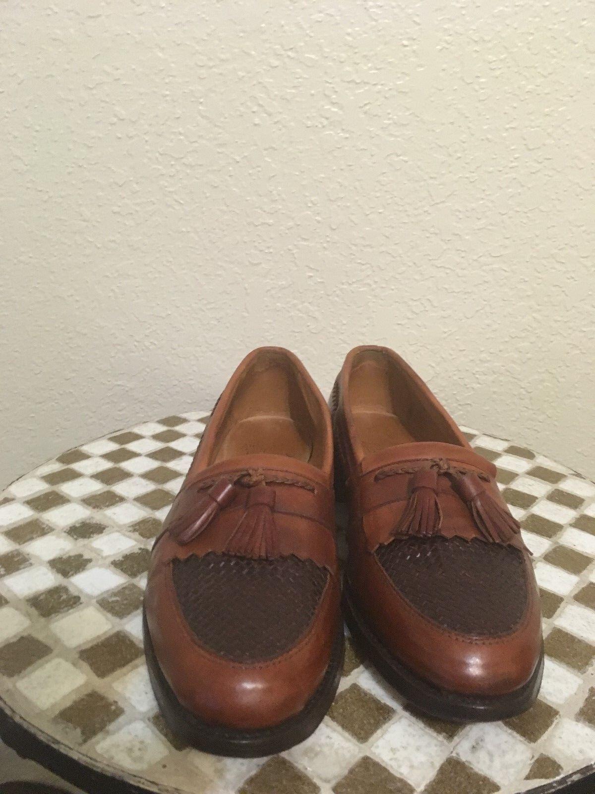 ALLEN EDMONDS CODY Marrón Conducción Mocasines zapatos 9.5 C
