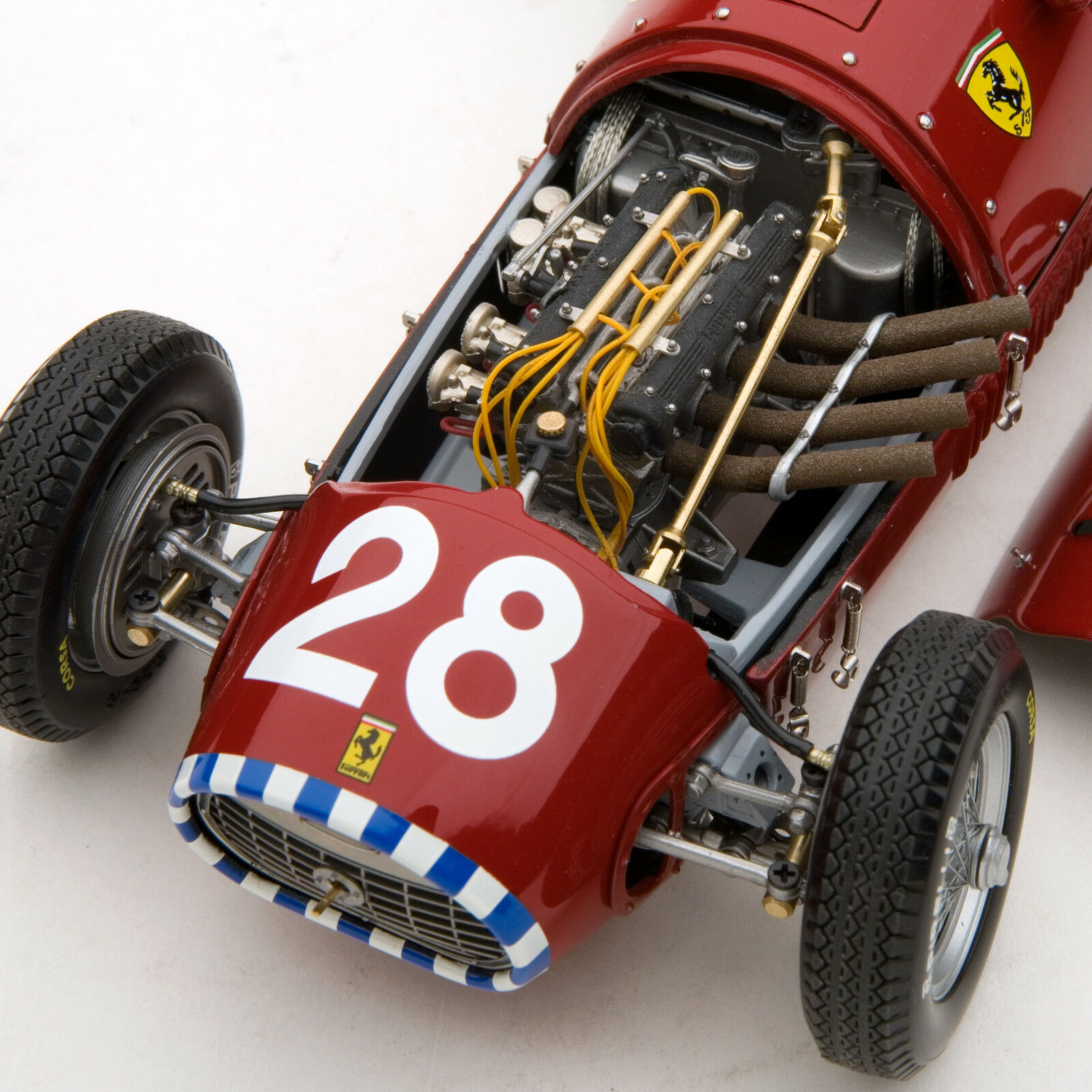 Exoto 1952 Ferrari 500 F2   Gp Gp Gp Of Switzerland   Nino Farina   1 18    GPC97199  | Die Königin Der Qualität  b91676