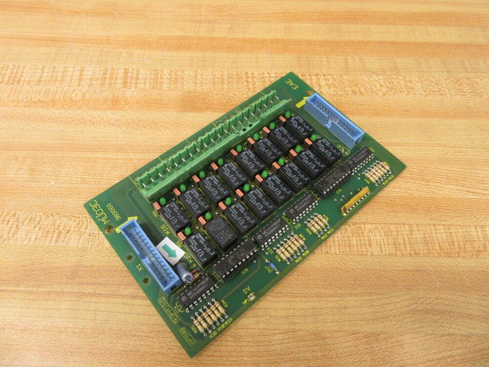 EAE MUO3C Circuit Board MU03C 983060 Broken Resistor