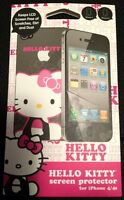Hello Kitty Screen Protector (front & Back) Apple Iphone 4/4s In Package