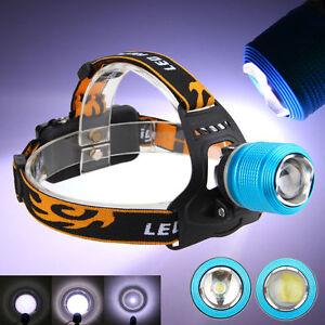 6000LM-XM-L-T6-LED-Rechargeable-18650-USB-Headlamp-Headlight-Head-Light-Torch