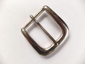 """HEAVY DUTY NICKEL WEST END SINGLE ROLLER BELT BUCKLE Leather craft 3//4/""""  20 mm"""