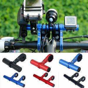 MTB-Bike-Handlebar-Extension-Mount-Bicycle-Handle-Bar-Bracket-Extender-Holder