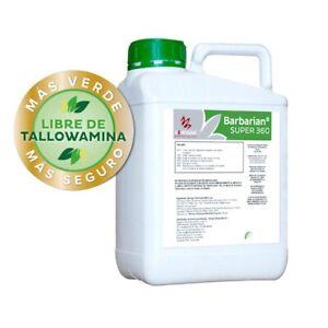 Desherbant-Herbicide-GLYPHOSAT-5L-Barbarian-SUPER-360-jusqu-039-a-1666-m2-ENVOI-24H