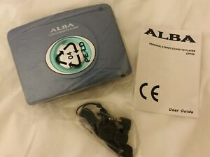 Alba-Personal-Stereo-Cassette-Player-Walkman-CP705-Sealed
