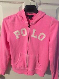 Fleece Girls Blend Polo Lauren Big About Cotton Pink Details Hoodie L1214 Kids Ralph wm0ONv8ny